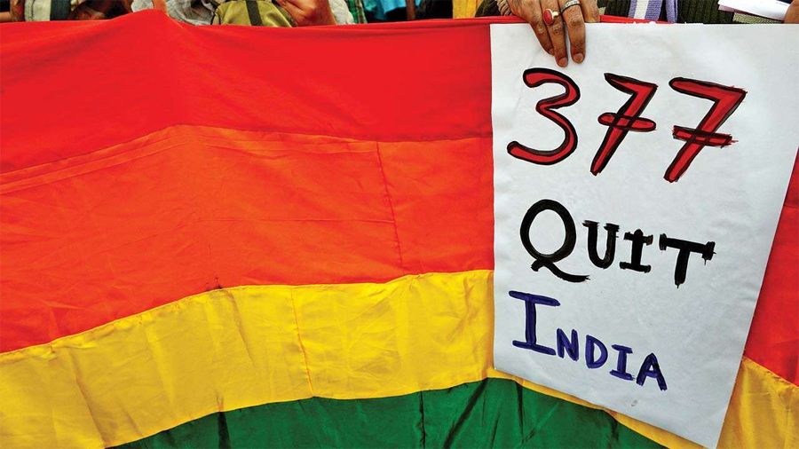 10th annual Mumbai queer pride march theme 377