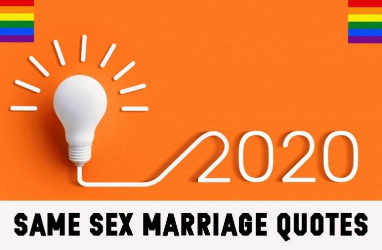 Same Sex Marriage Quotes