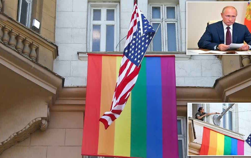 Vladimir Putin Mocks US Embassy in Moscow for Flying Rainbow Flag to Celebrate LGBT Rights