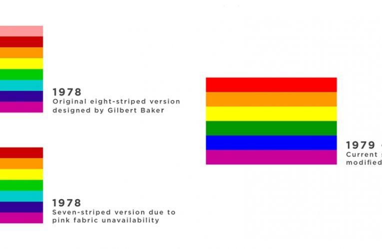 LGBT Communities Pride Flag Colors